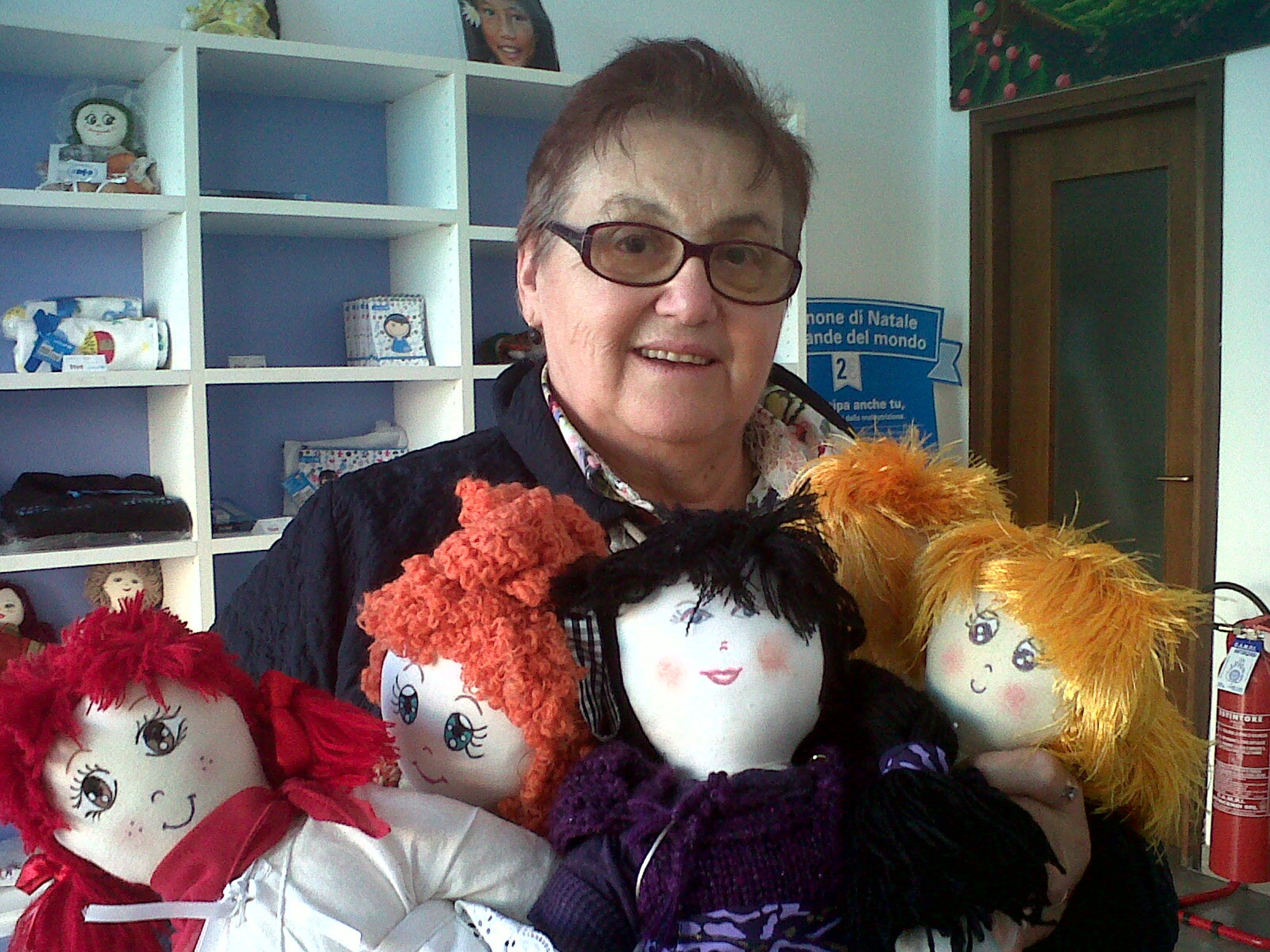 Verona: nonna Emilia festeggia le Mille Pigotte UNICEF