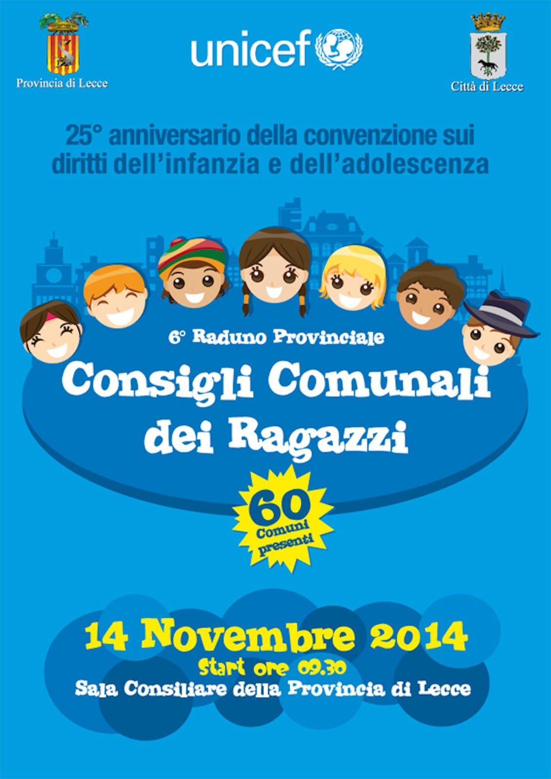 Lecce: tutto pronto per il raduno dei Consigli Comunali dei Ragazzi
