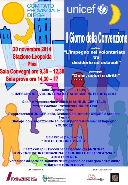 Il Giorno della Convenzione a Pisa