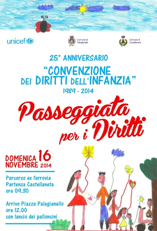 Taranto celebra i 25 anni dei diritti dei bambini