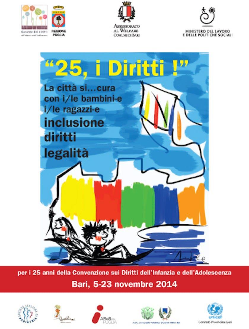 Bari, Giornata dei diritti dei bambini