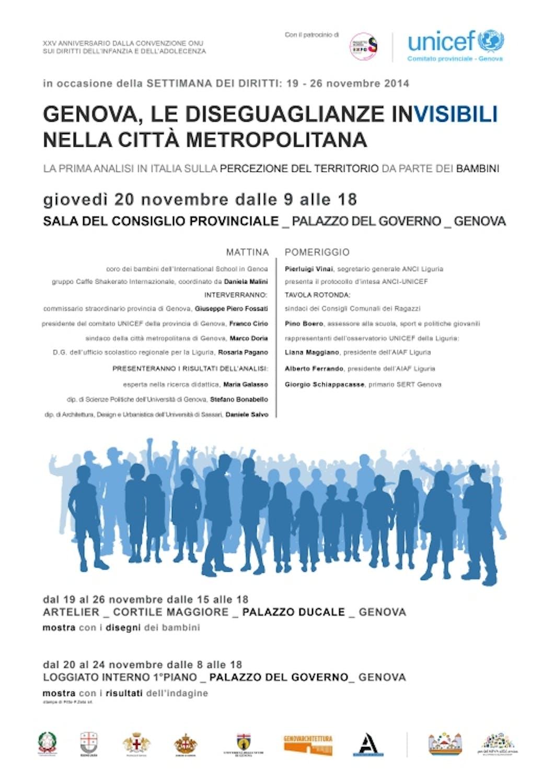 Genova: le disuguaglianze (in)visibili nella città metropolitana