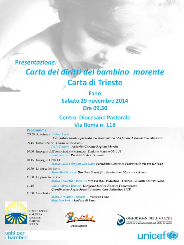 A Pesaro presentata la Carta di Trieste