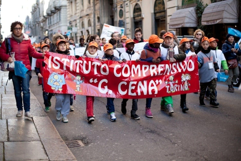 Torino: l'istituto comprensivo Giovanni Cena insieme ad UNICEF