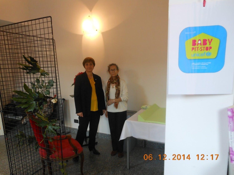 A Meda e Lentate sul Seveso due biblioteche con Baby Pit Stop UNICEF