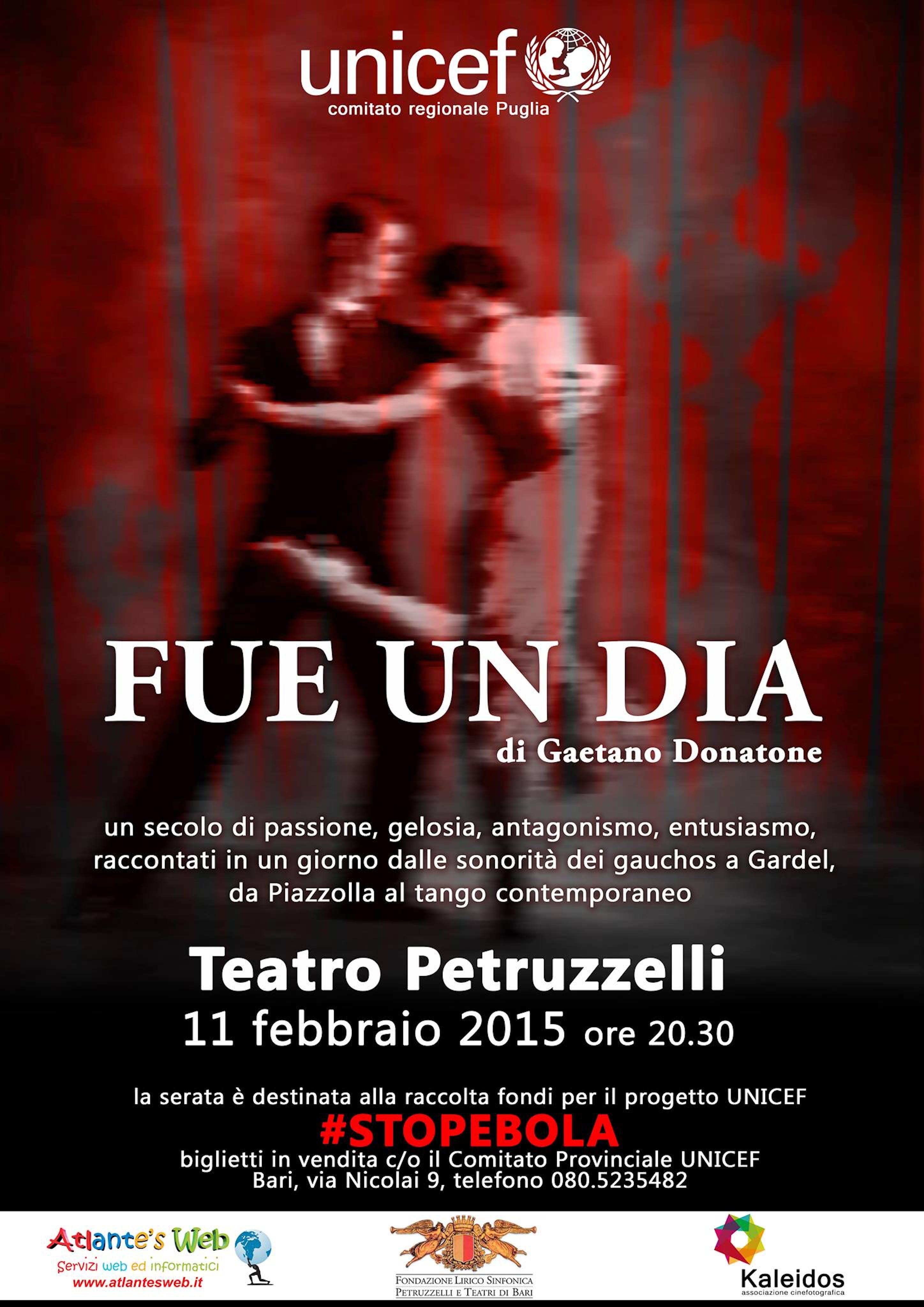 La magia del tango argentino per una serata di solidarietà