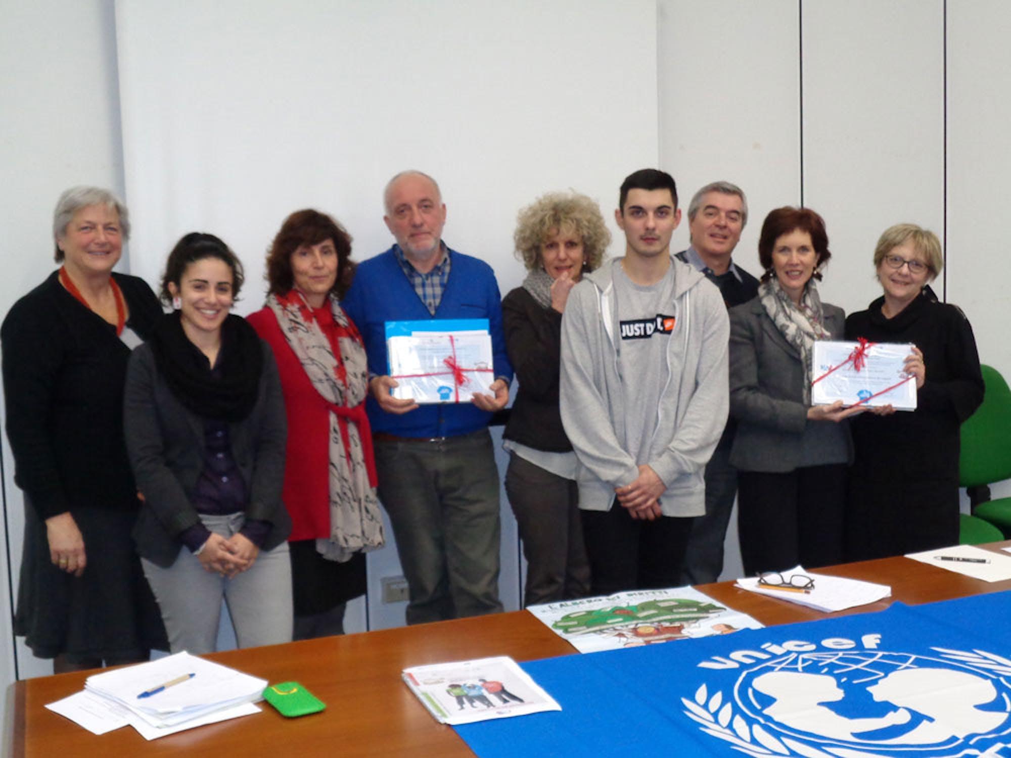 Riconosciute a Pordenone le scuole impegnate con UNICEF