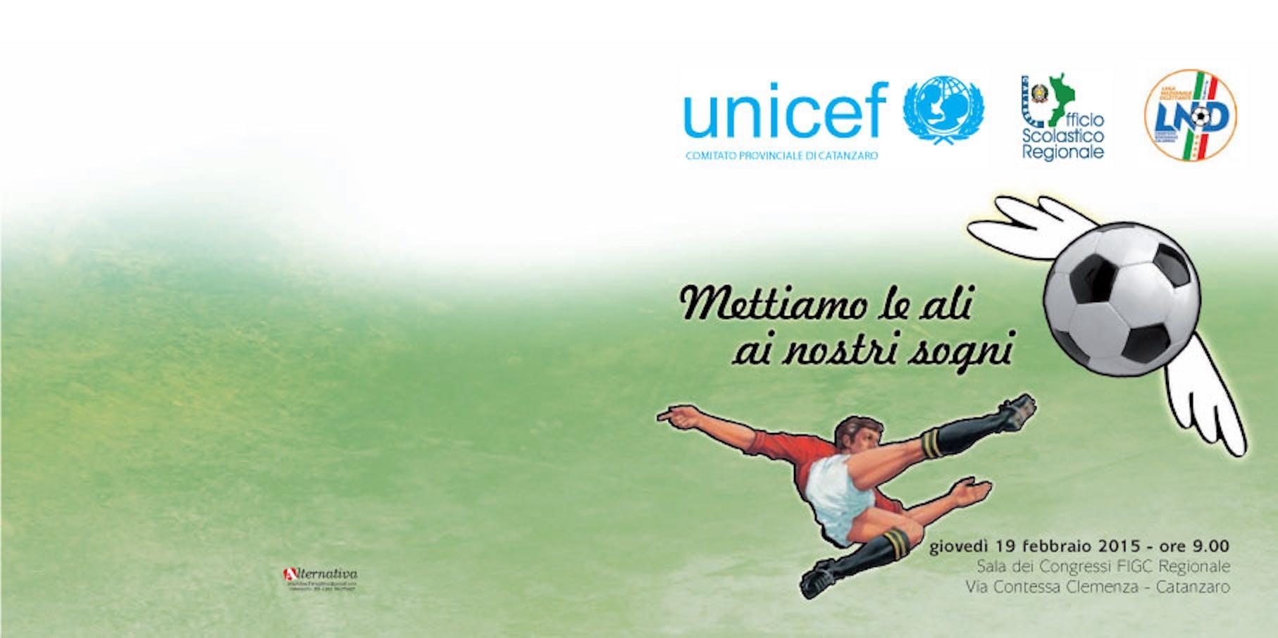 Catanzaro: UNICEF, FIGC e USP pronti a collaborare fianco a fianco per l'Infanzia