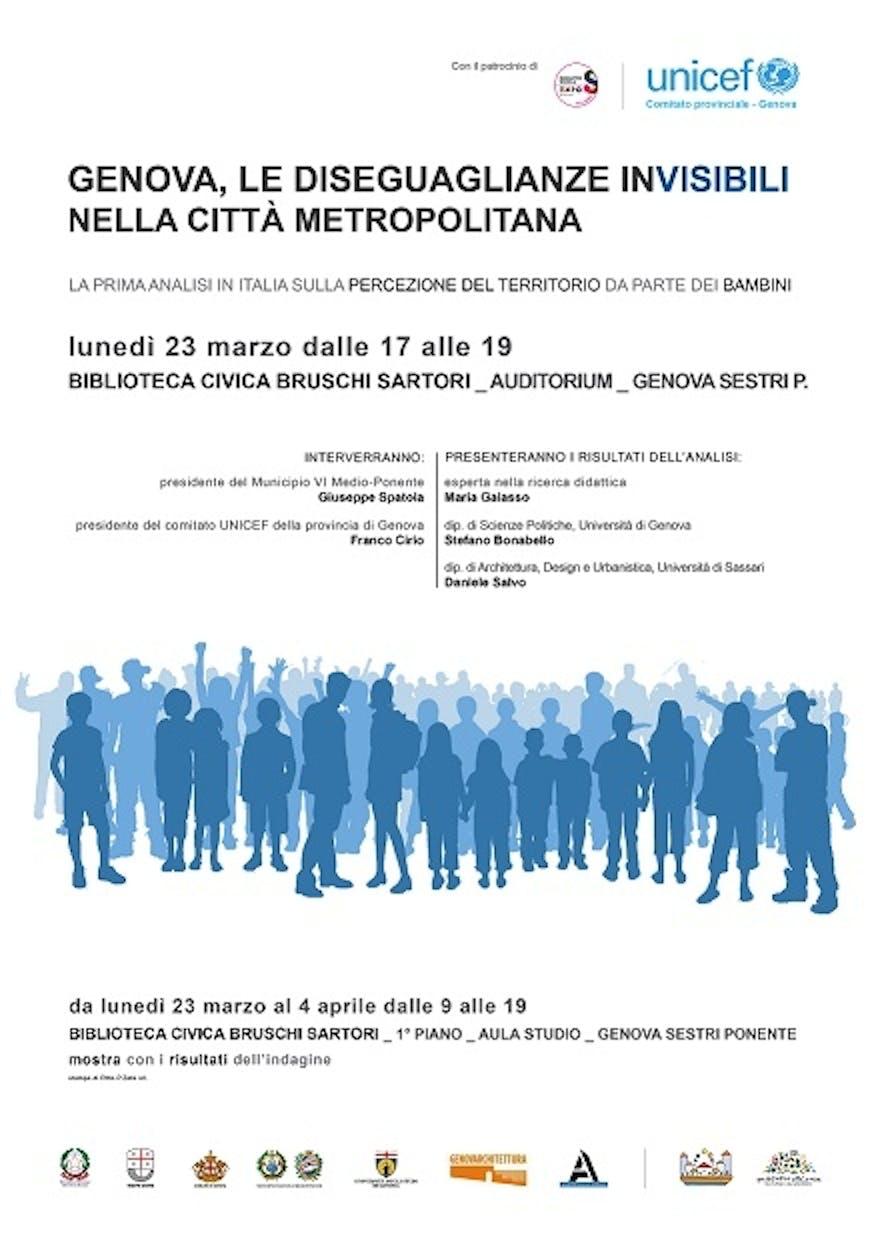 Genova: la cittadinanza con UNICEF per interrogarsi sulla città a misura di bambino