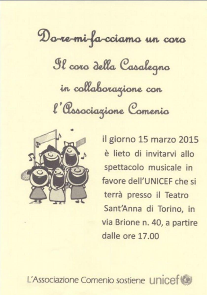 Torino: una serata di musica per sostenere i progetti UNICEF