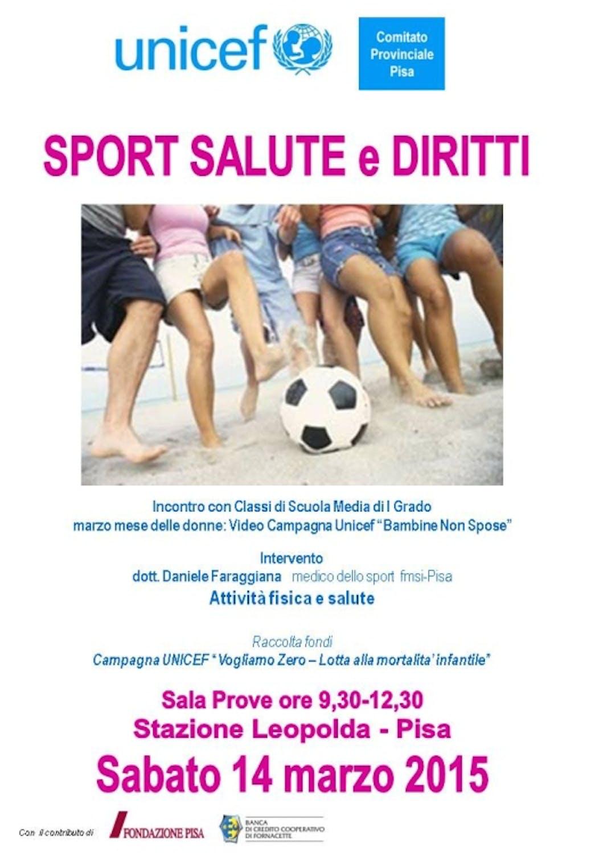 Pisa: una giornata di sport, salute e diritti