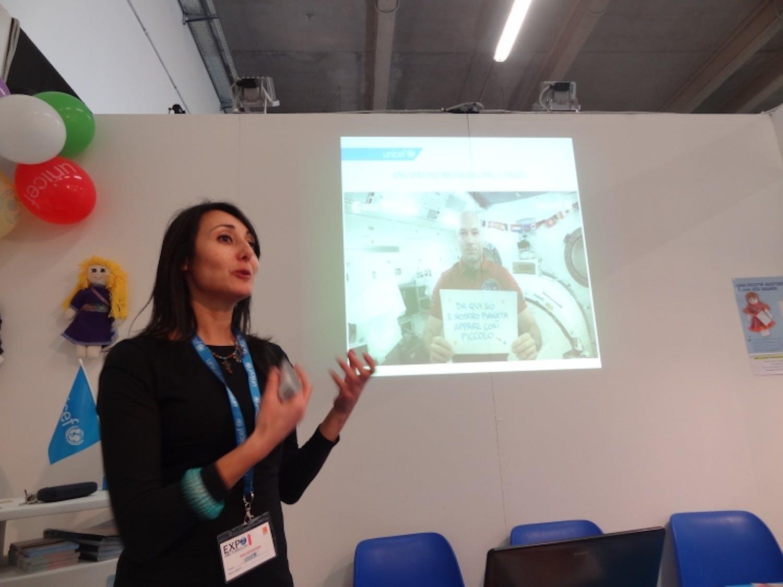 L'UNICEF al 9° Expo della pubblicità di Catania