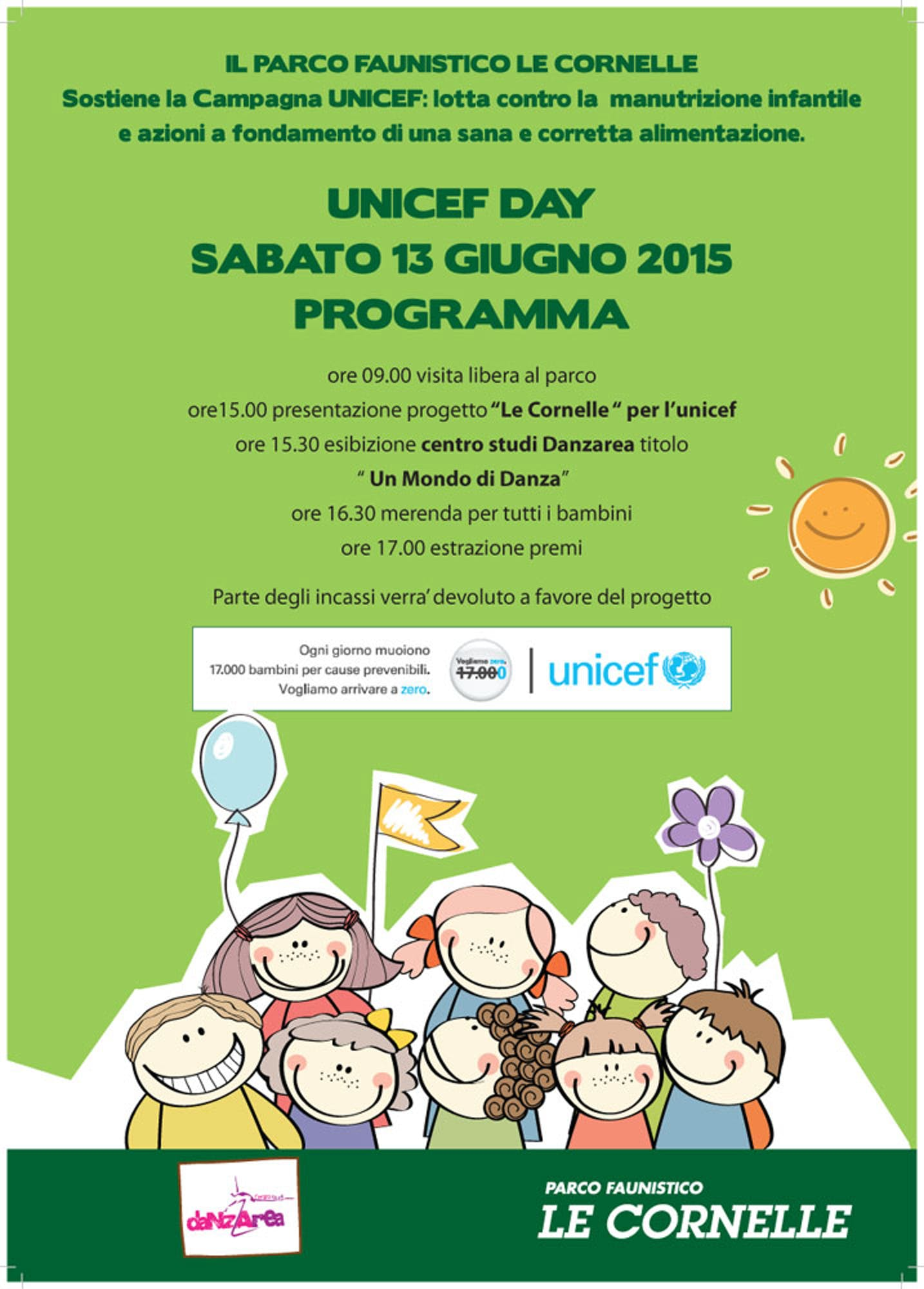 Valbrembo (BG): il parco faunistico sostiene l'UNICEF