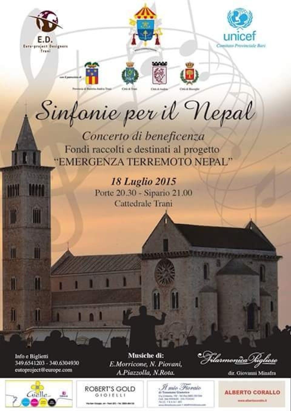 Bari: un concerto per aiutare il Nepal