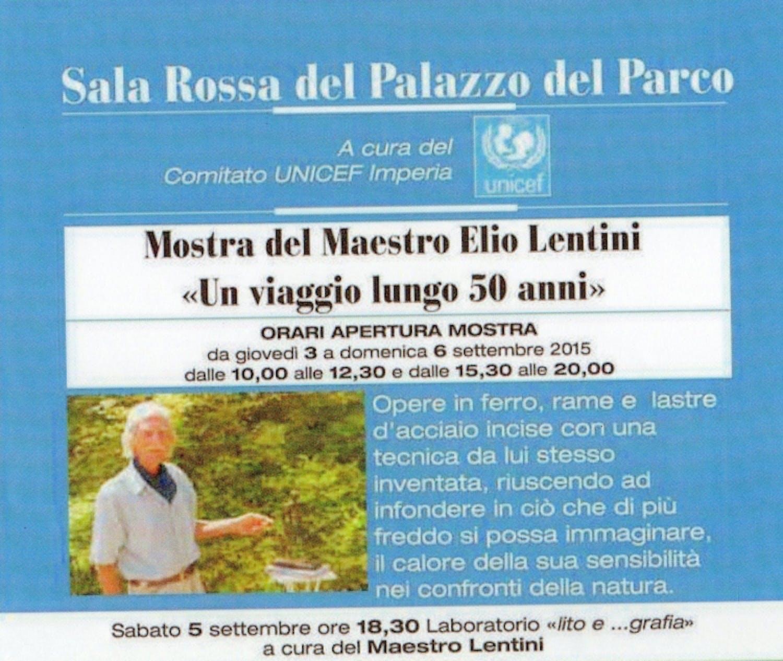 Al Bordighera Book Festival il Maestro Elio Lentini per l'UNICEF