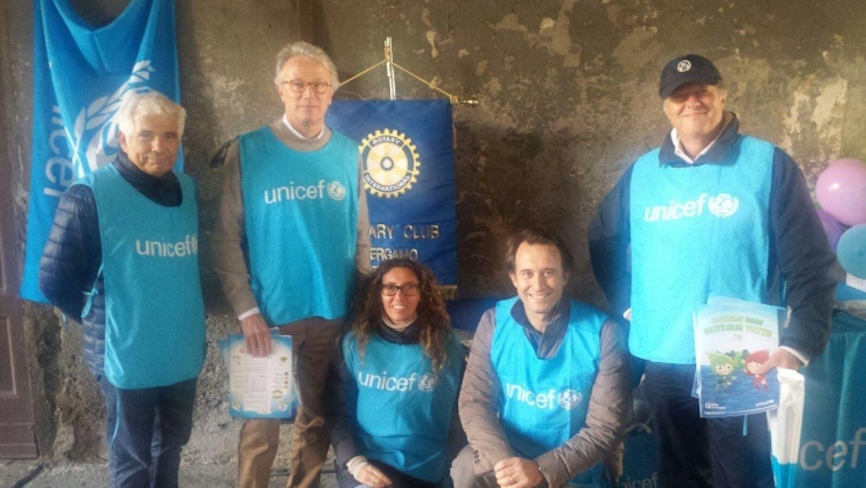 Bergamo: anche il Rotary in piazza per combattere la malnutrizione