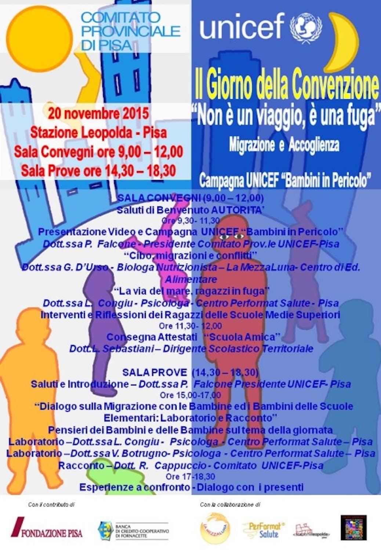 A Pisa si prepara la giornata dei diritti dell'infanzia