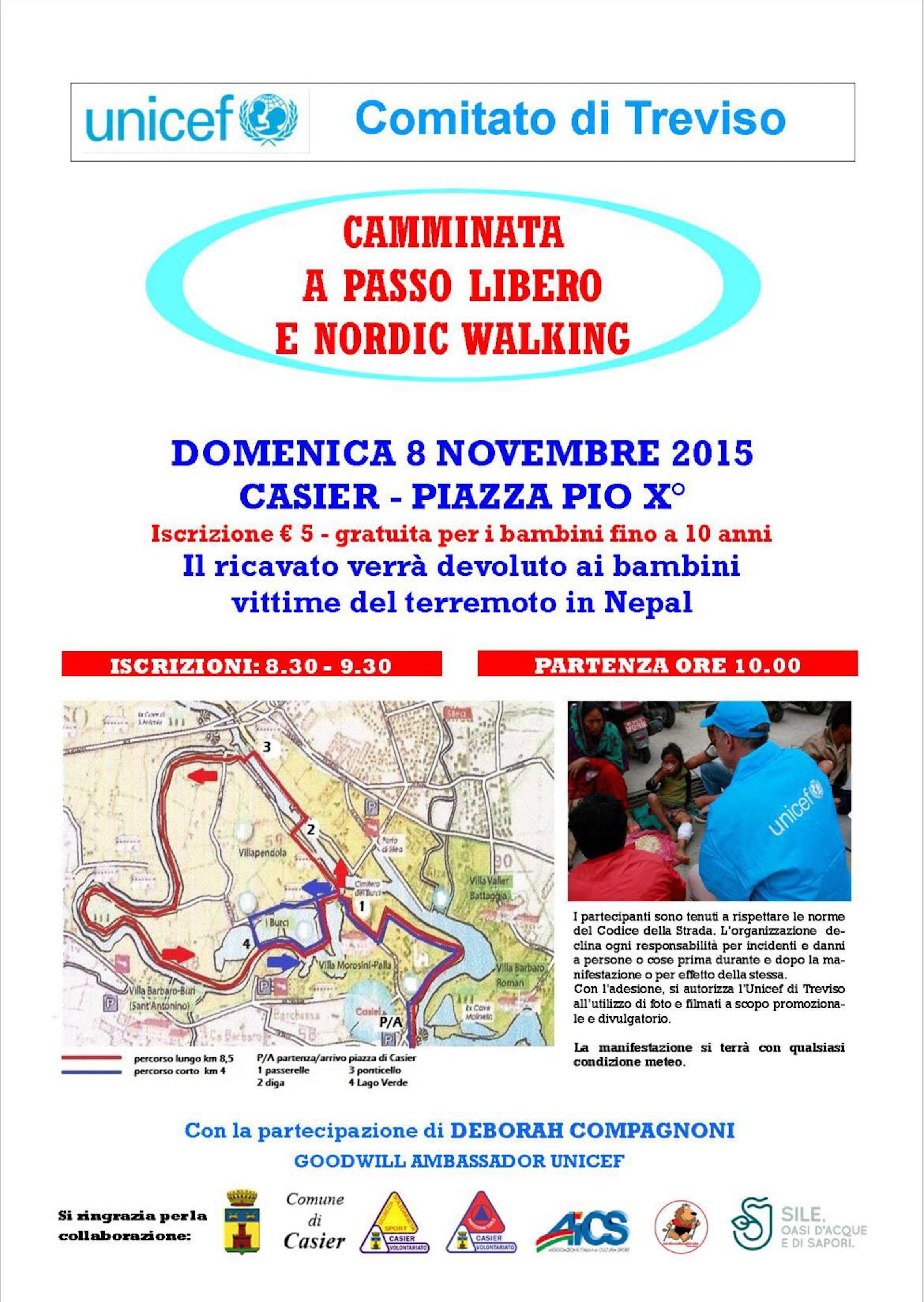 Treviso: in cammino con Deborah Compagnoni per sostenere il Nepal