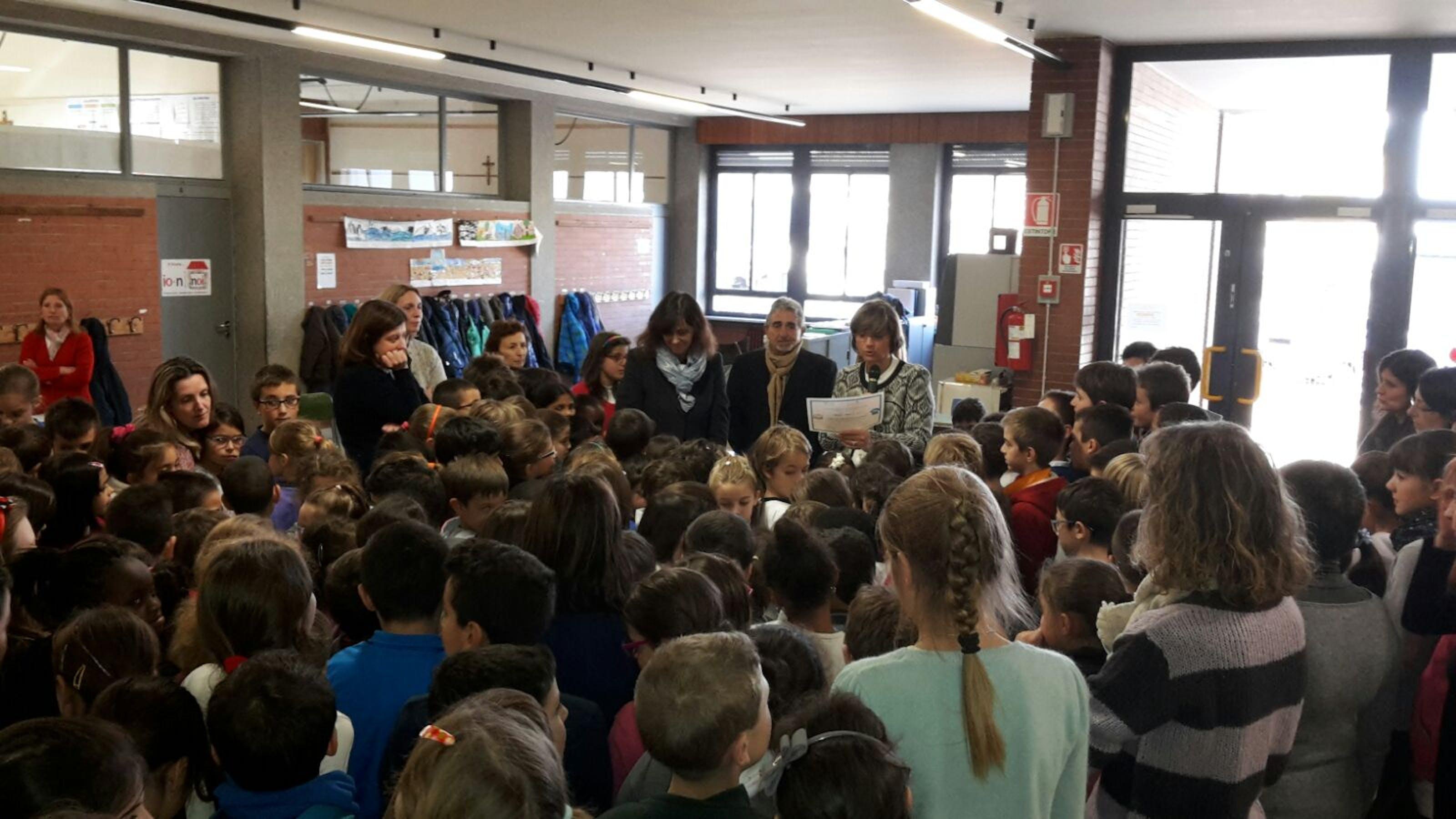 I diritti dei bambini festeggiati in Brianza