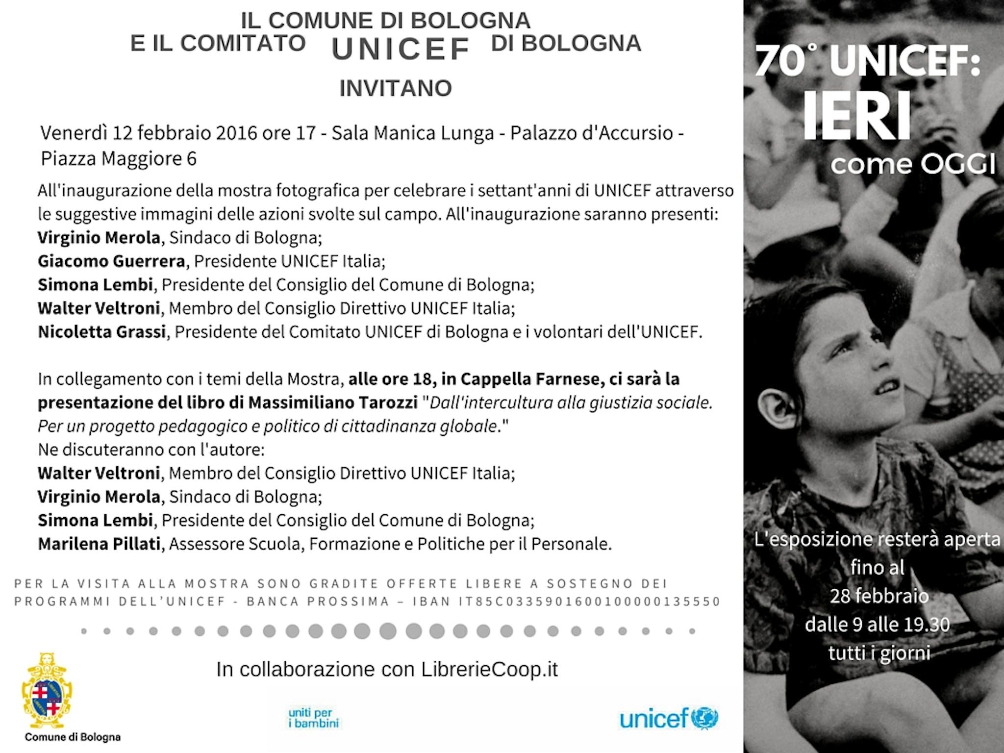 Bologna: tutto pronto per la mostra celebrativa Ieri come Oggi