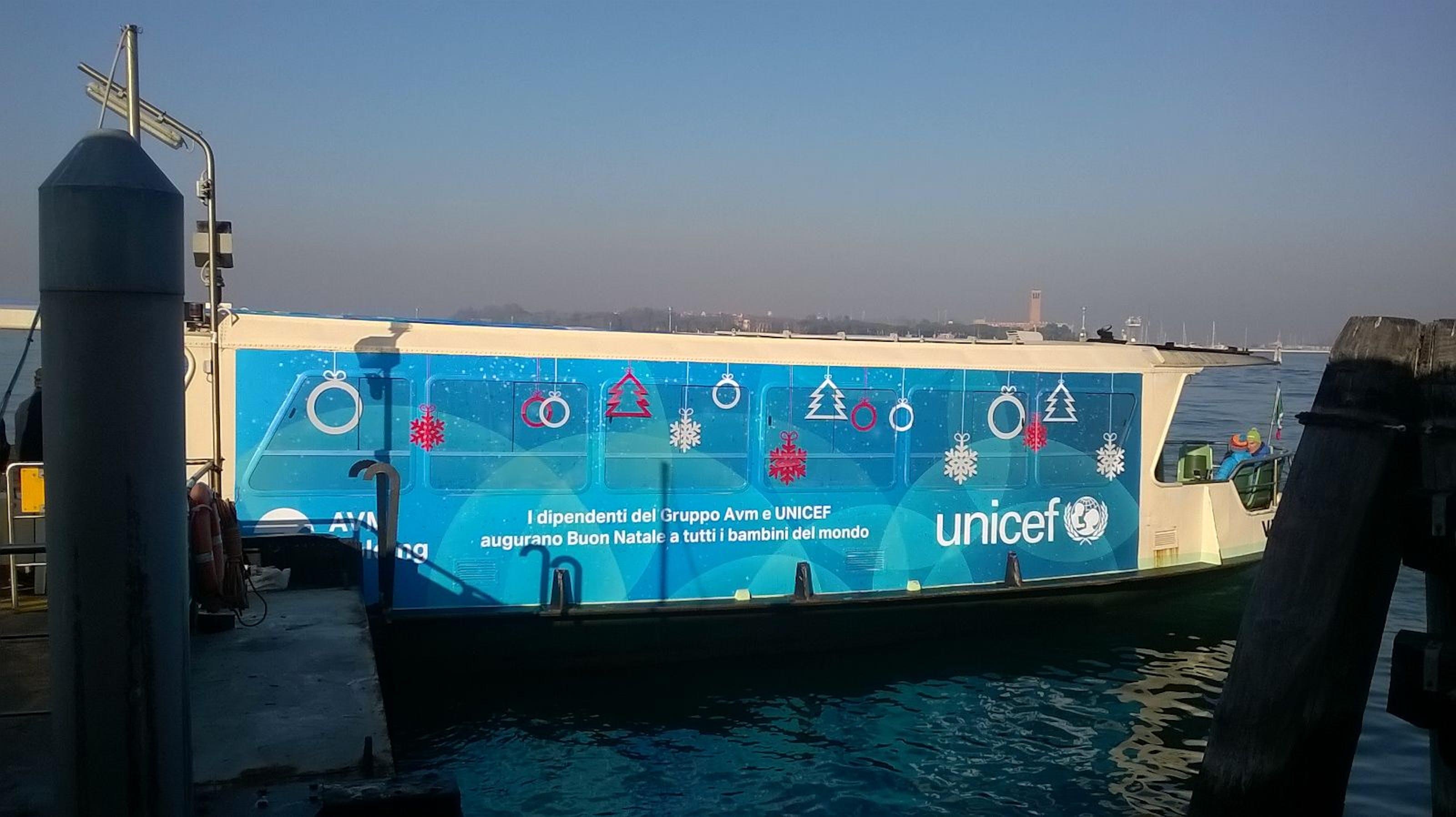 Venezia: continua il sodalizio ACTV - VELA per aiutare i bambini del mondo