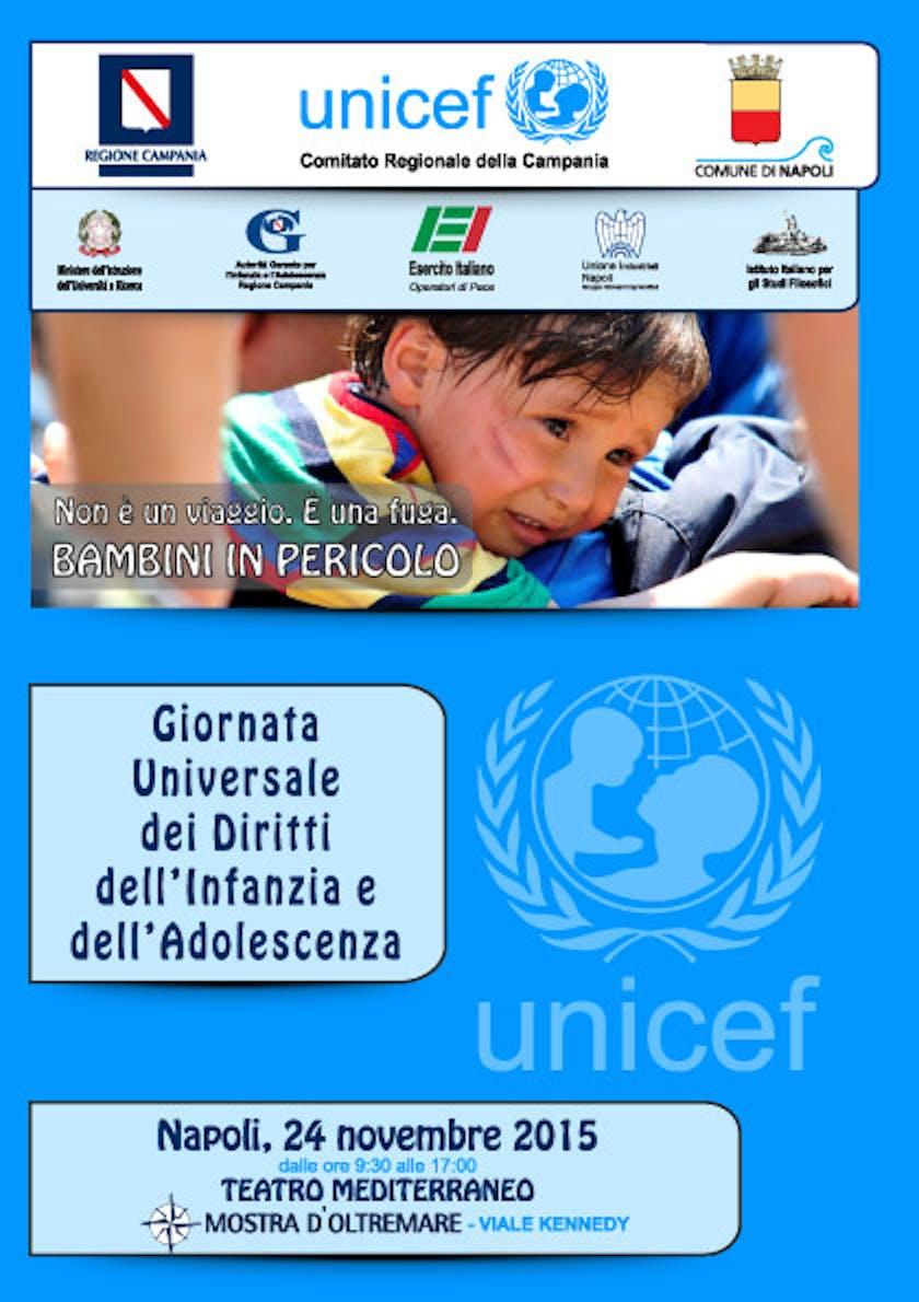 Napoli festeggia la giornata universale dell'infanzia