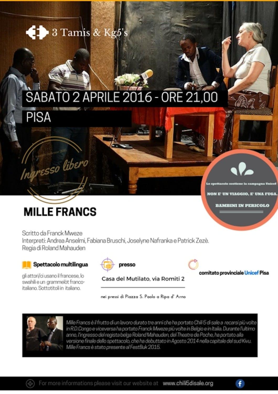 Pisa: un nuovo spettacolo teatrale a sostegno dei bambini in pericolo