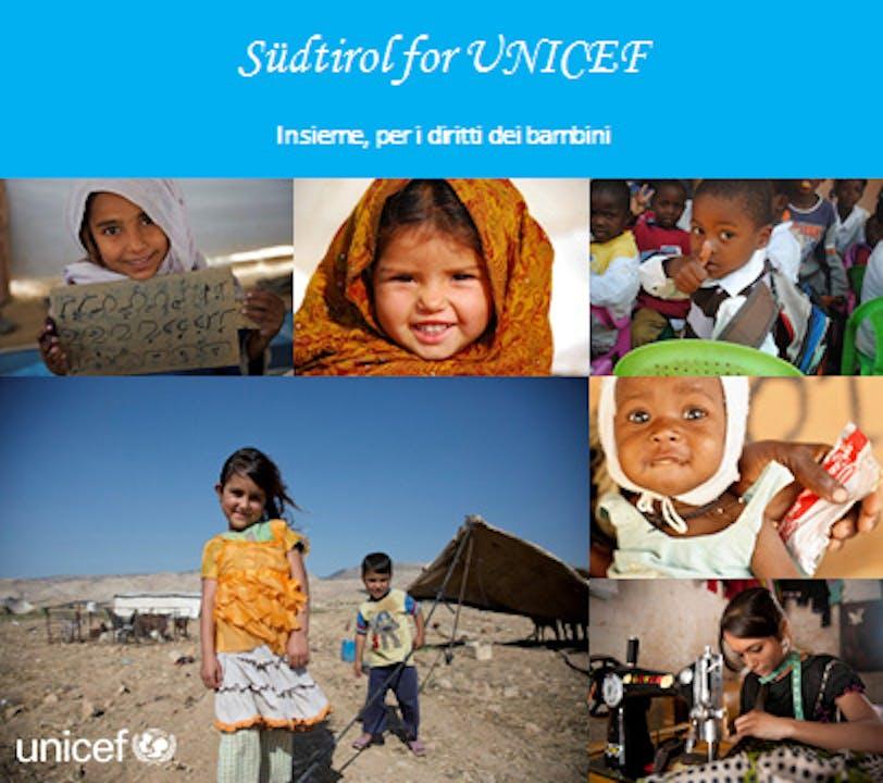 Südtirol for UNICEF, una settimana di solidarietà per l'infanzia