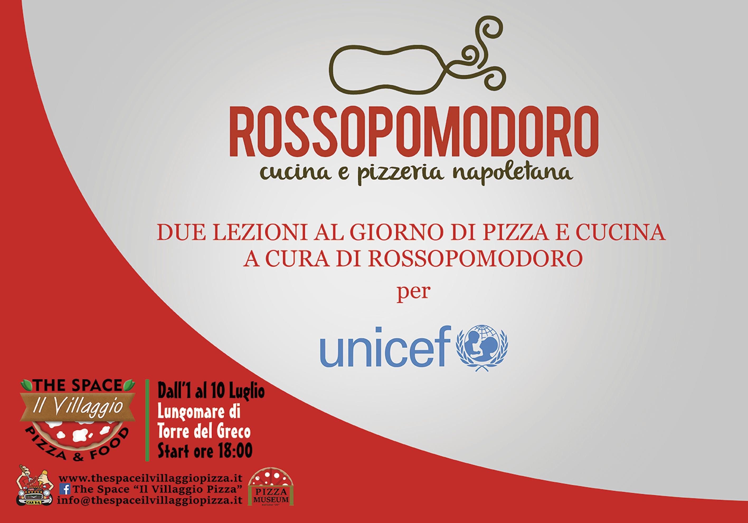 ROSSOPOMODORO per l'UNICEF
