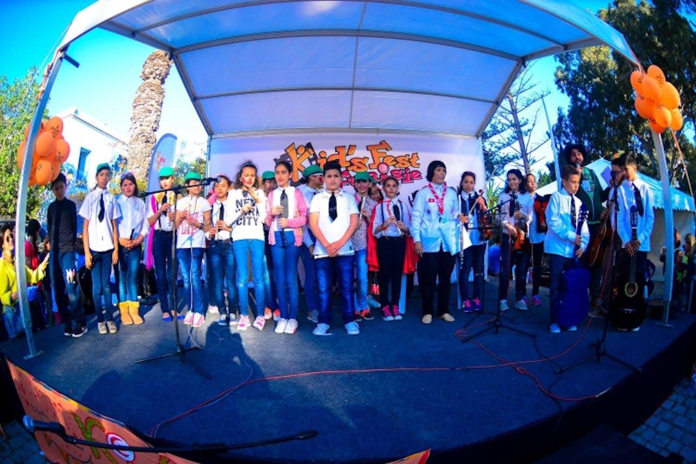 Alcuni bambini alla precedente edizione del Kid's Fest