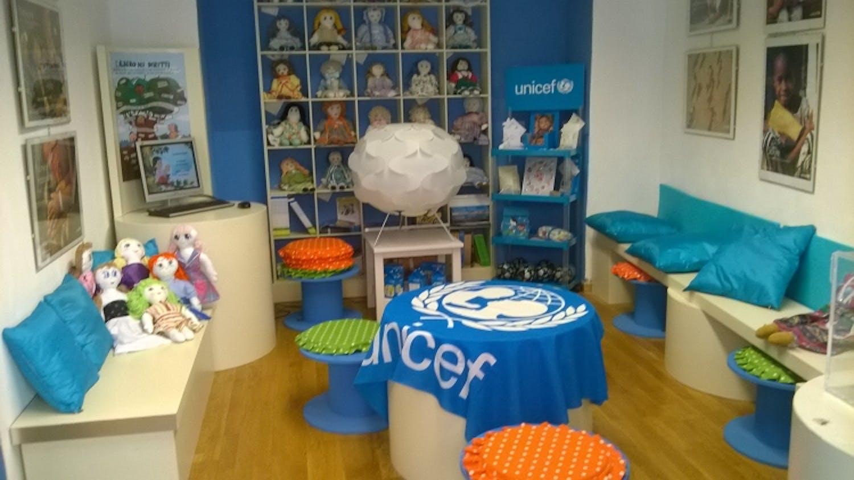 Il salotto UNICEF per i bambini