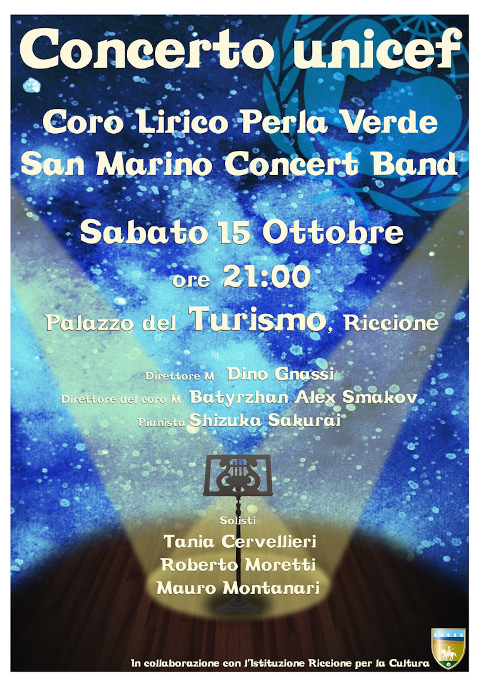 Concerto del 15 ottobre a Riccione