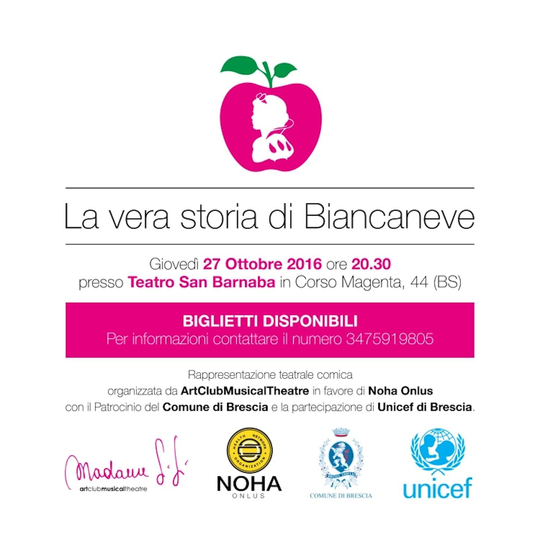 Locandina dell'evento di Brescia del 27 ottobre 2016