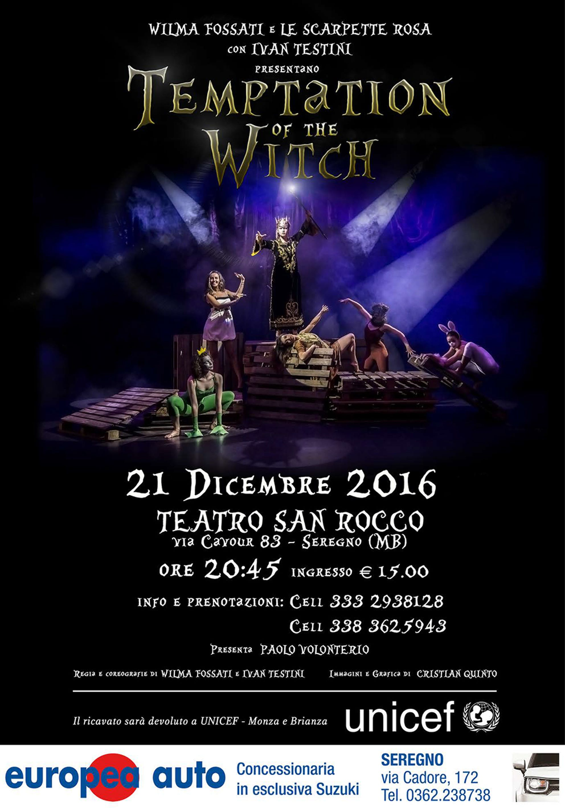 Temptation of the witch 2016