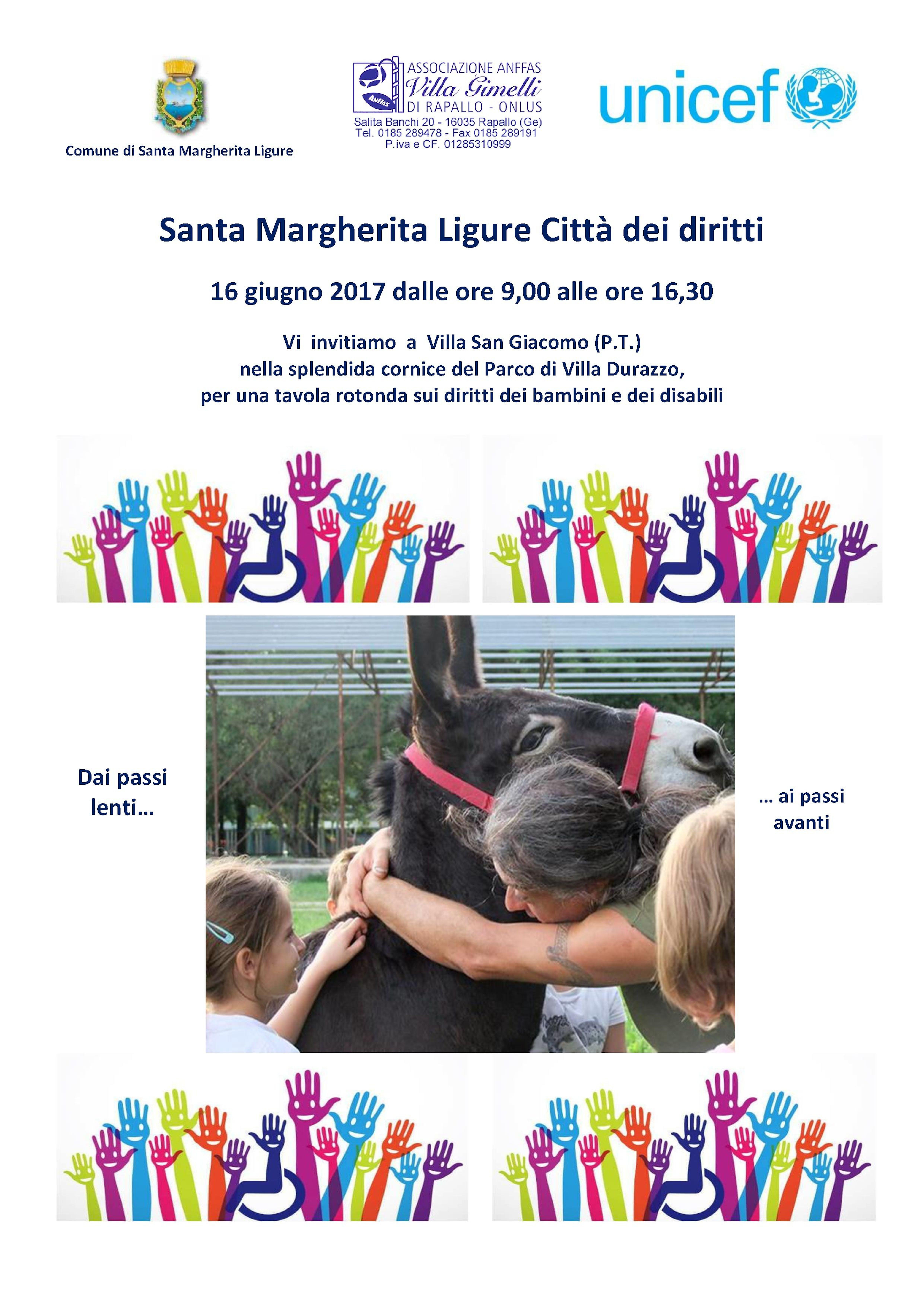 Santa Margherita Ligure, città dei diritti