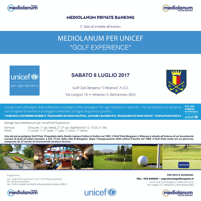 Mediolanum per l'UNICEF
