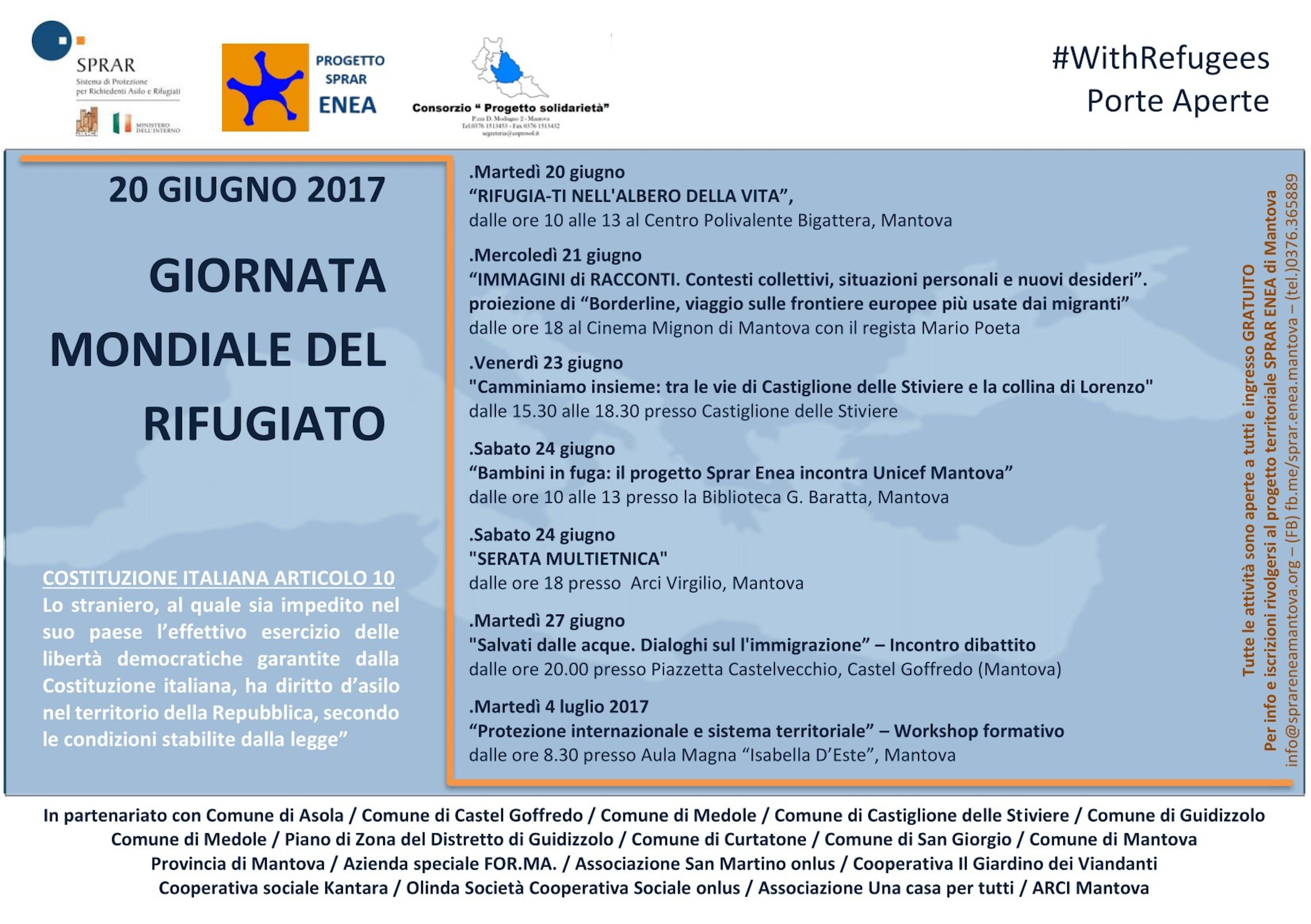 UNICEF e lo SPRAR Enea, insieme a Mantova