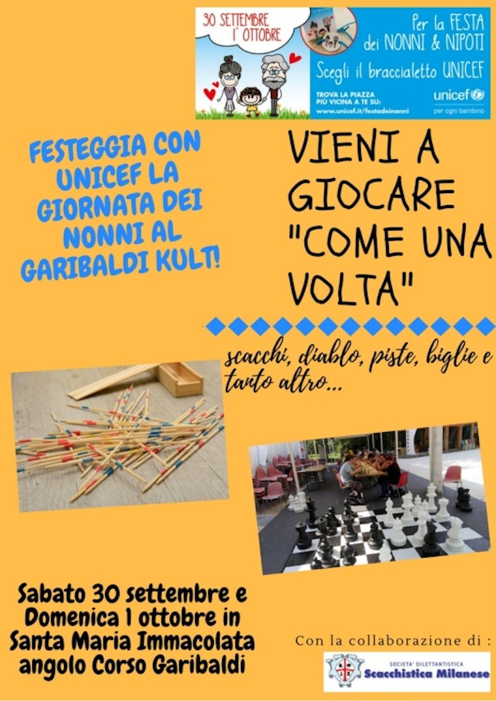 Festa dei Nonni e Nipoti a Milano