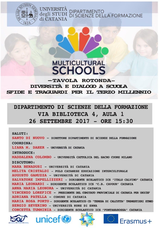 Tavola Rotonda a Catania 26 settembre 2017