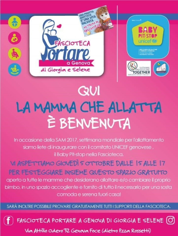 Nuovo Baby Pit Stop a Genova