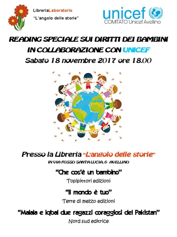 Le attività ad Avellino per la Giornata Mondiale per l'Infanzia