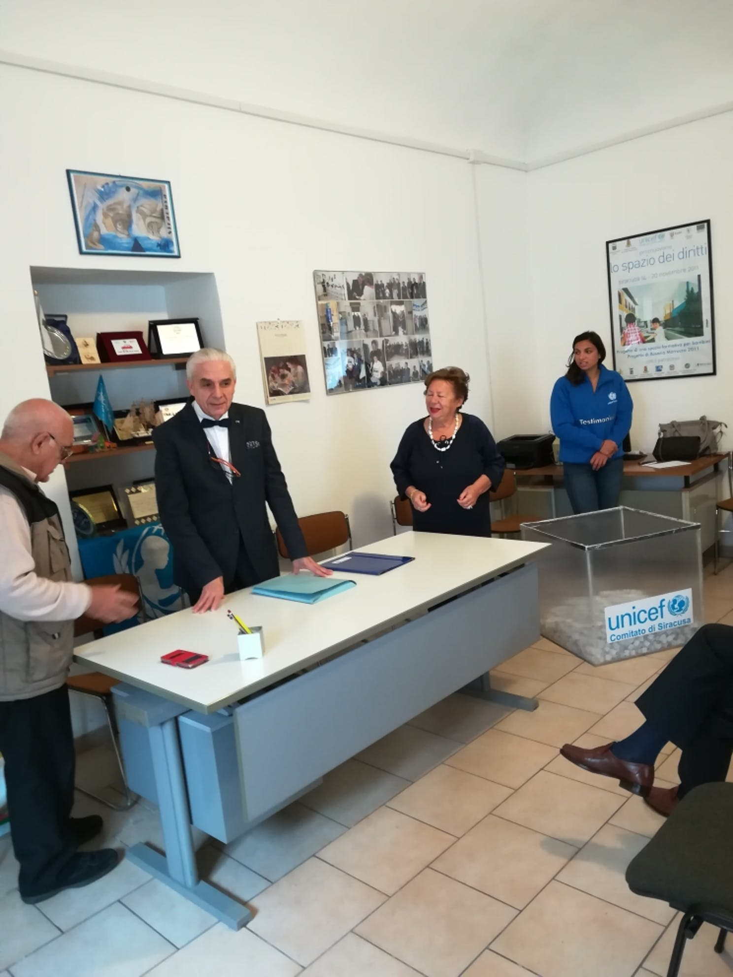 Estratti nella sede UNICEF di Siracusa i biglietti vincenti della V° Lotteria dei Diritti