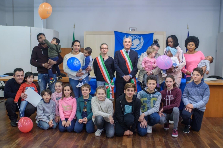 Foto di gruppo a Bogliasco (GE)