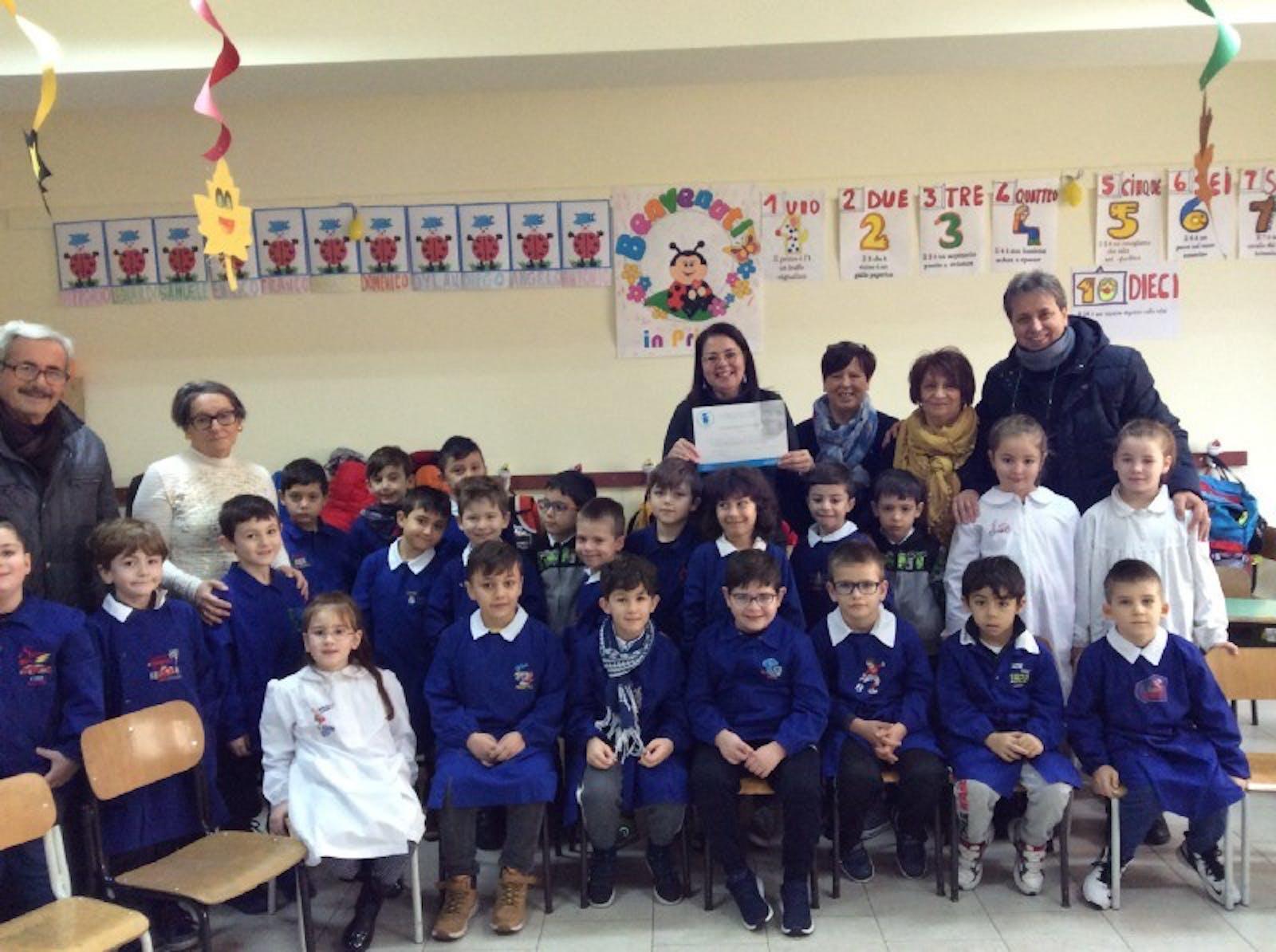 """Il Presidente del Comitato Provinciale UNICEF di Potenza nella scuola primaria """"Morlino"""""""