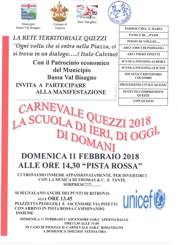 Carnevale a Genova Quezzi 2018