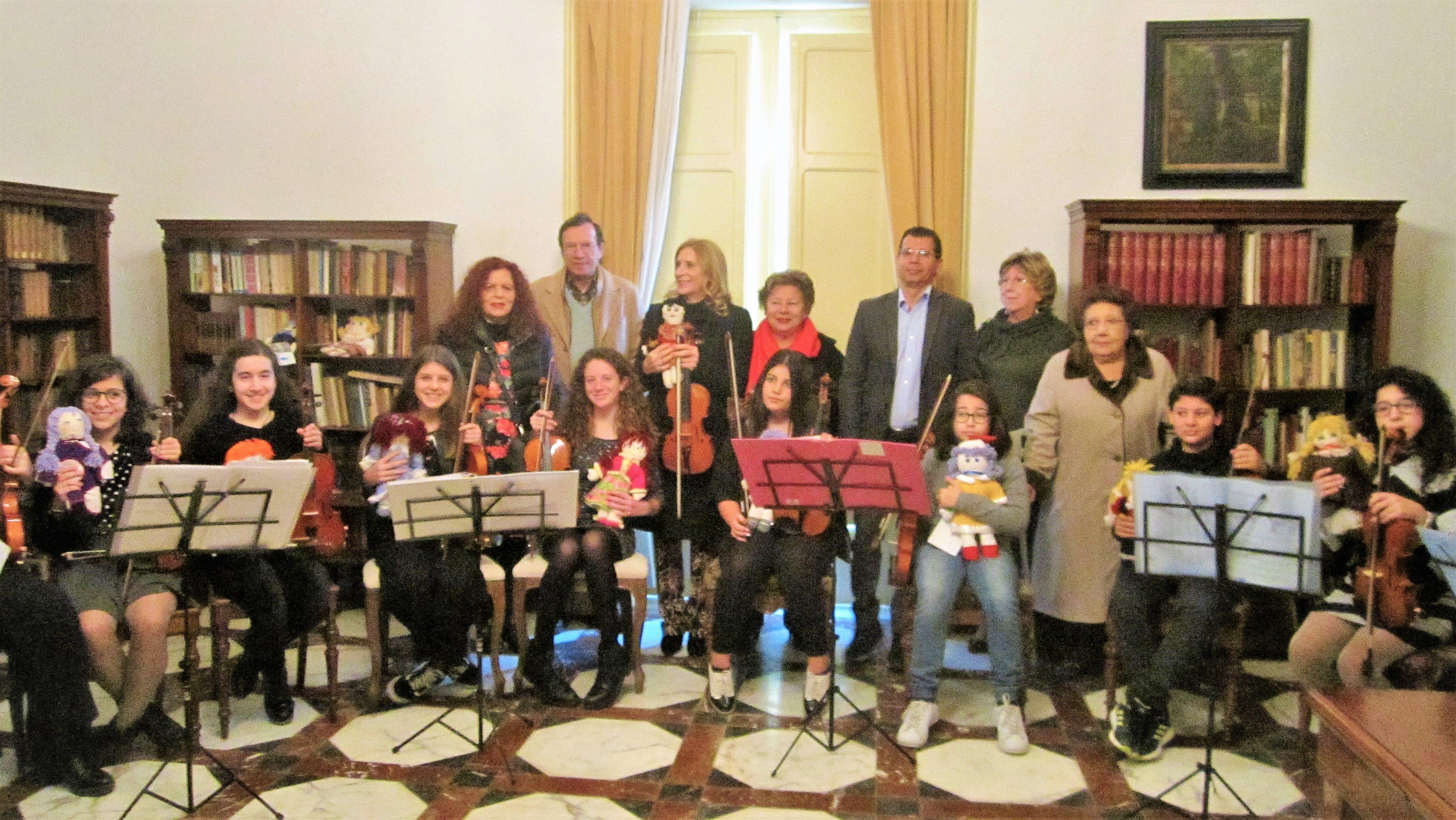 Siracusa: Dieci Violini a Villa Reimann per le Pigotte dell'UNICEF
