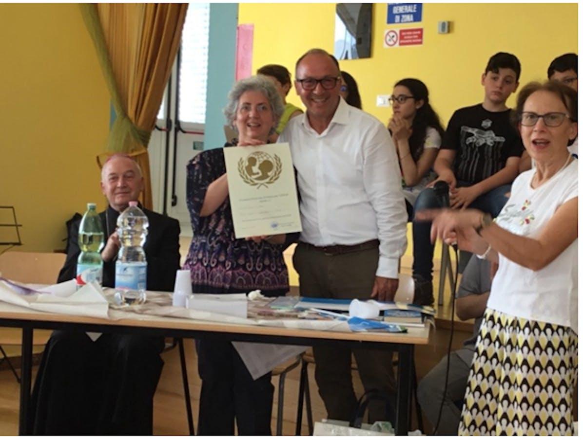 Monsignor Ligorio, la preside Pucci, Mario Coviello e l'insegnante Pica