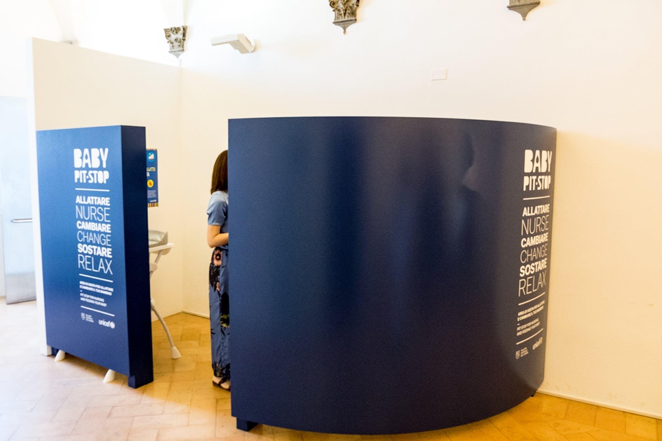 Inaugurazione del Baby Pit Stop alla Galleria nazionale dell'Umbria (Perugia)