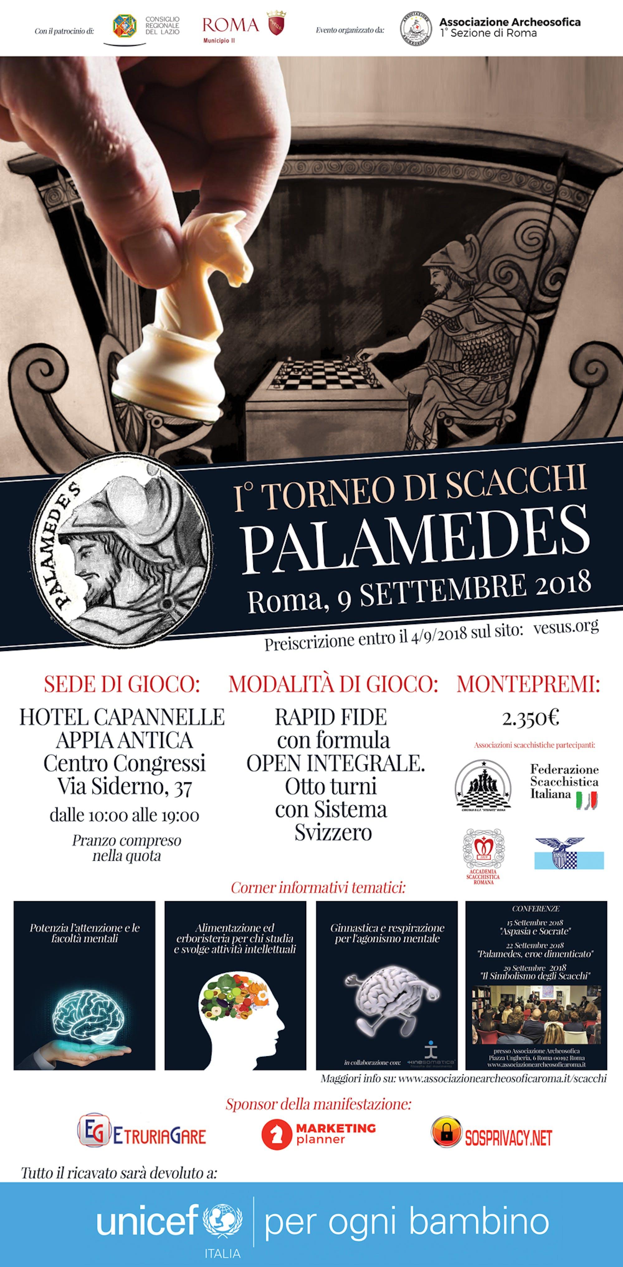 Locandina del torneo Palamedes