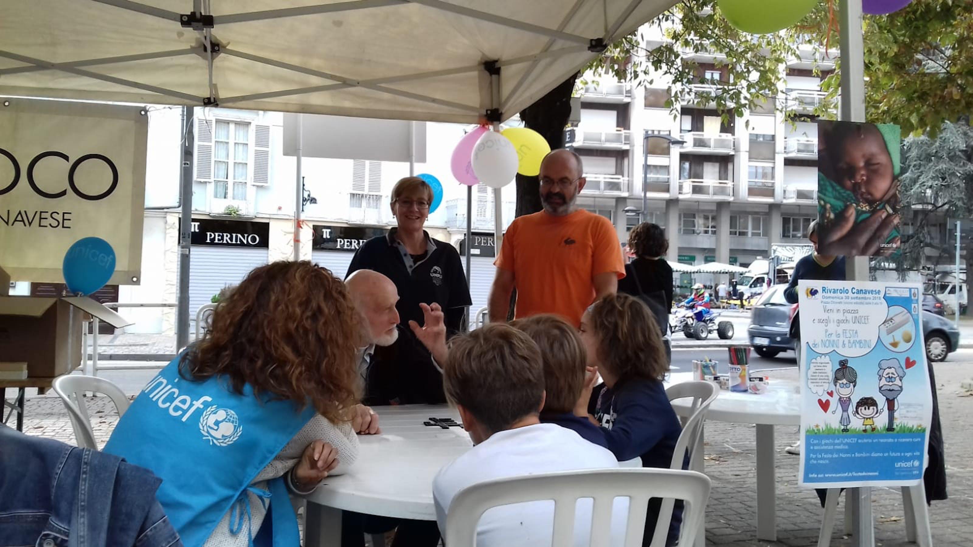 Organizzata a Rivarolo la Festa dei Nonni e Bambini in collaborazione con Pro Loco e Consiglio Comunale dei ragazzi